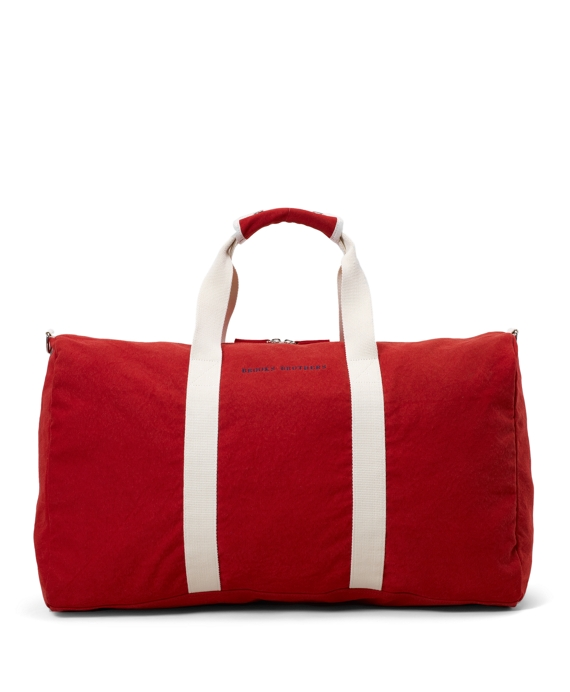 Canvas Duffel Bag Red