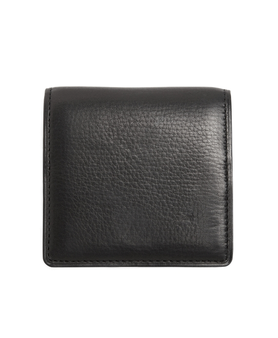 Leather Coin Case Black