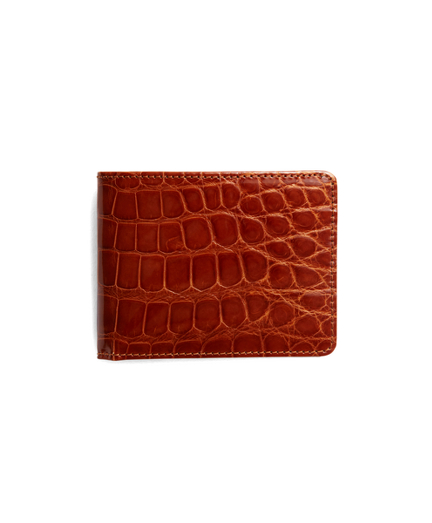 Slim Alligator Wallet