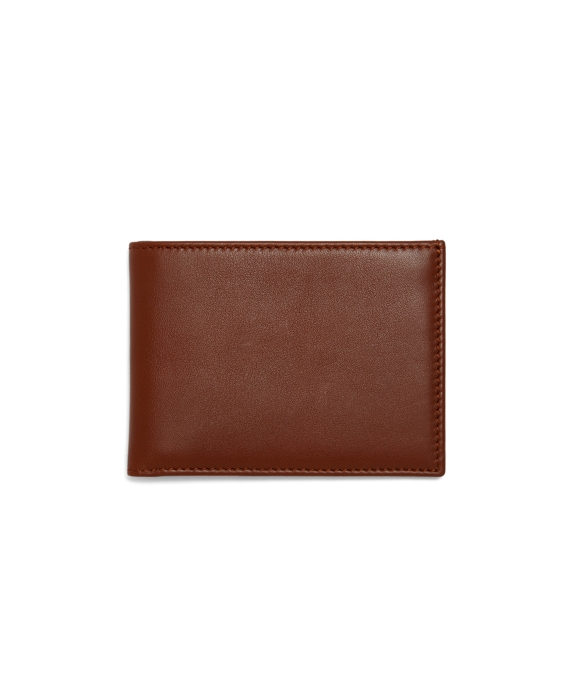 Calfskin Billfold Tan-Green