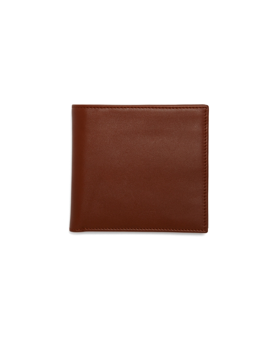 Calfskin Euro Wallet Tan-Green