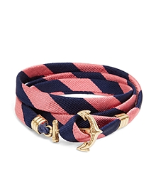 Kiel James Patrick BB#4 Stripe Wrap Bracelet