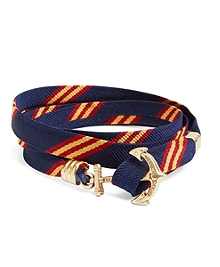 Navy-Gold-Red
