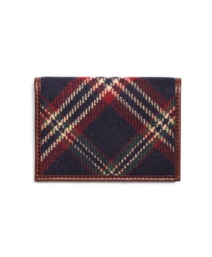 Signature Tartan Card Case