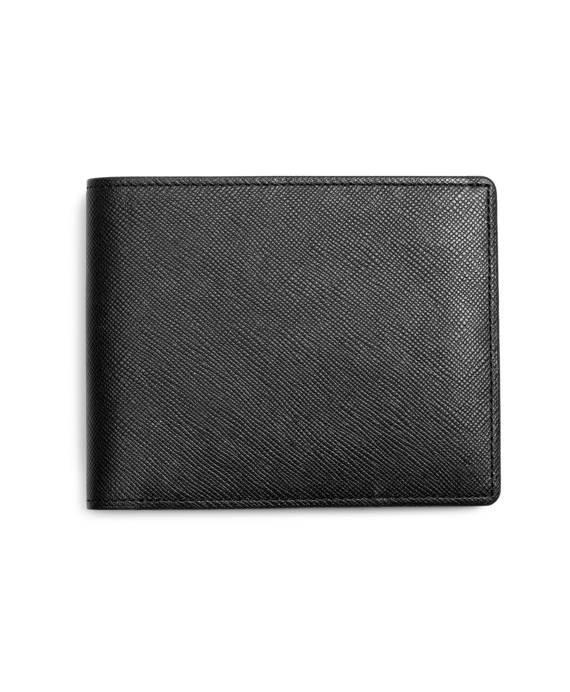 Saffiano Leather Wallet Black