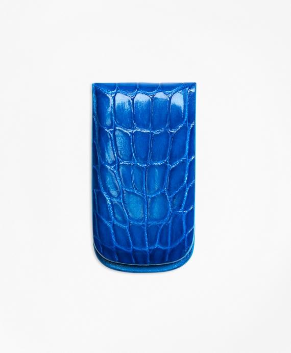 Alligator Money Clip Blue
