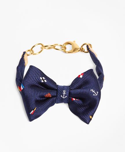 Kiel James Patrick Navy Nantucket Bow Bracelet