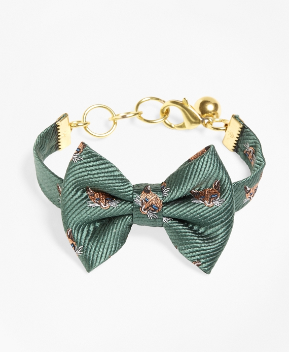 Kiel James Patrick Fox Bow Tie Bracelet Green