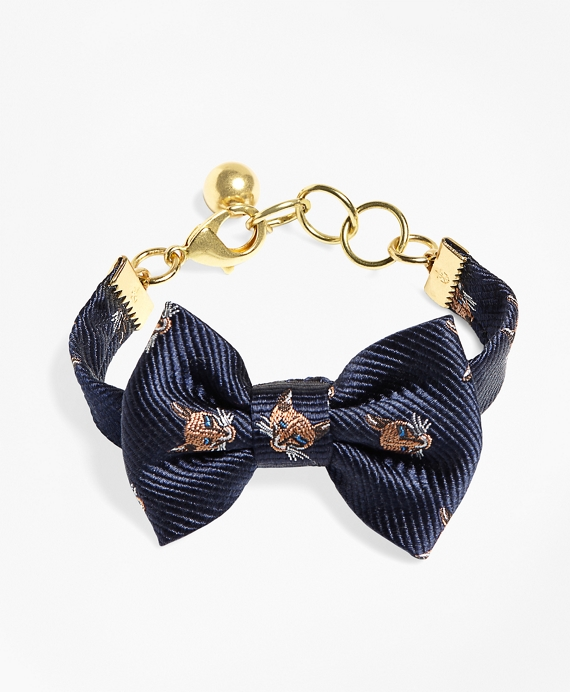 Kiel James Patrick Fox Bow Tie Bracelet Navy