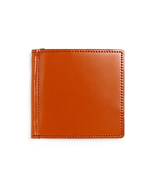 Cordovan Money Clip Wallet