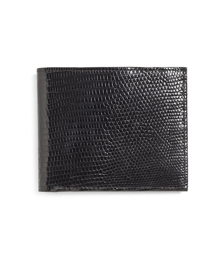 Brooks Brothers Lizard Wallet