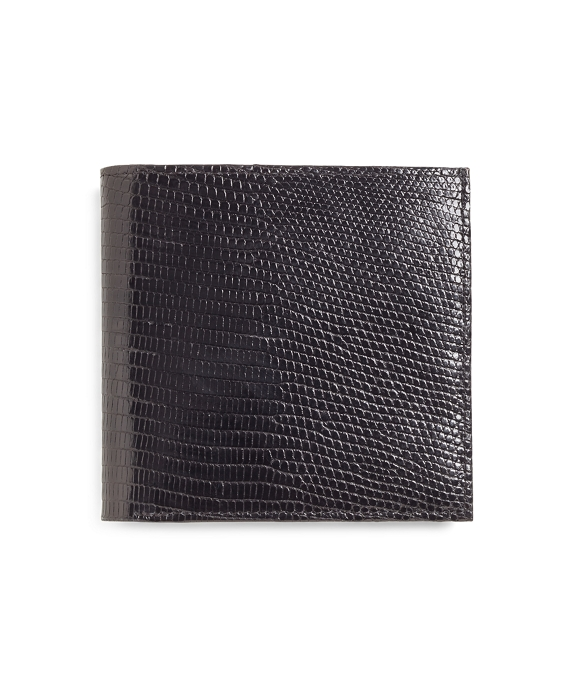 Lizard Euro Wallet Black