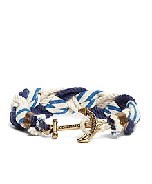 Kiel James Patrick Stripe Braided Bracelet