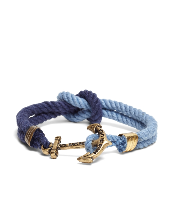 Kiel James Patrick Navy and Blue Triton Bracelet Blue-Navy