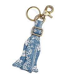 Nautical Print Key Fob