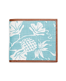 Pineapple Print Fabric Wallet