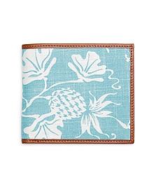 Pineapple Print Fabric Wallet