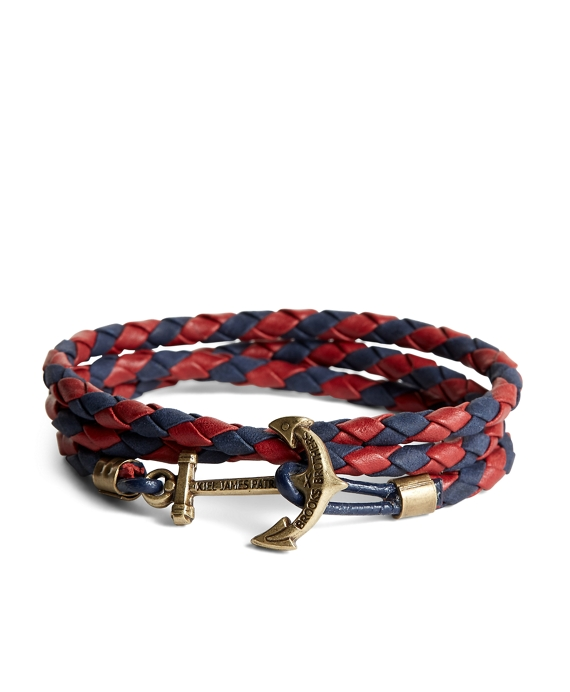 Kiel James Patrick Leather Wrap Bracelet