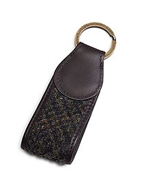 Harris Tweed Key FOB