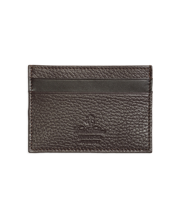 Pebble Leather Card Case