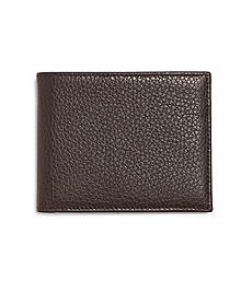 Pebble Leather Wallet