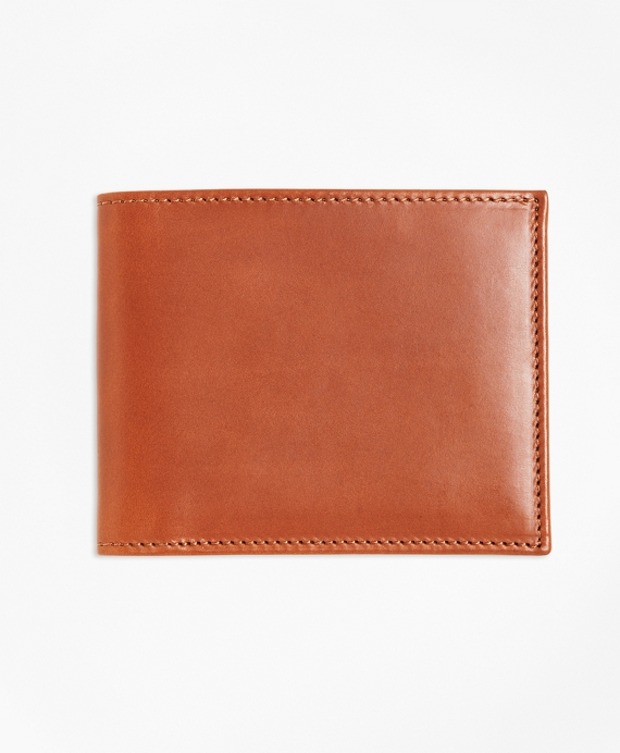 Vegetable Tanned Leather Wallet Cognac