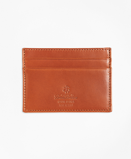 Vegetable Tanned Leather Card Case