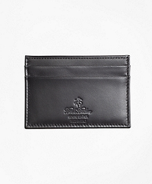 Leather with Black Watch Card Case