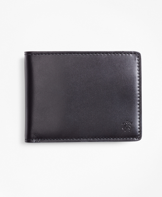 Leather I.D.  Wallet Black