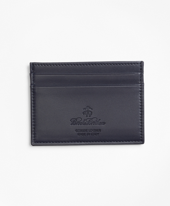 200th Anniversary Special-Edition Leather Card Case Navy