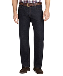Relaxed Fit Five-Pocket Supima® Denim