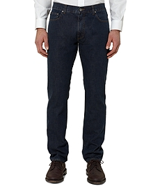 Slim Fit Five-Pocket Supima® Denim