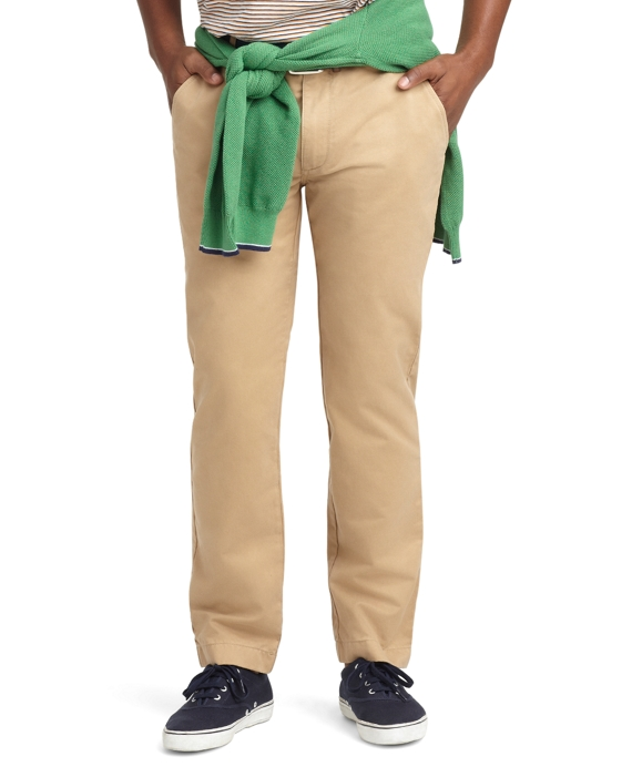 Slim Fit Chinos British Khaki