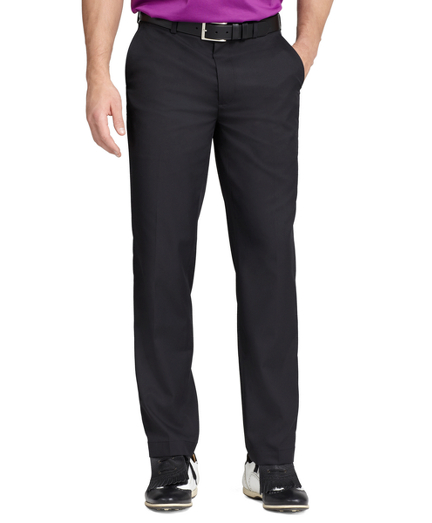 St Andrews Links Plain-Front Pants