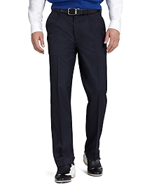 St Andrews Links Pleat-Front Golf Pants