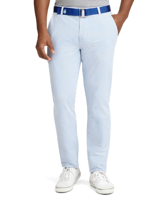 Sale alerts for Brooks Brothers Seersucker Slim Fit Pants - Covvet