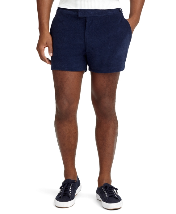 Terry Cloth Shorts Navy
