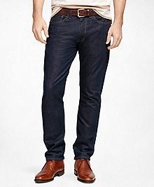 Supima® Denim Straight Fit Jeans