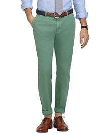 Milano Fit Garment-Dyed Chinos