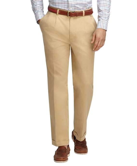 Elliot Fit Garment-Dyed Chinos Khaki