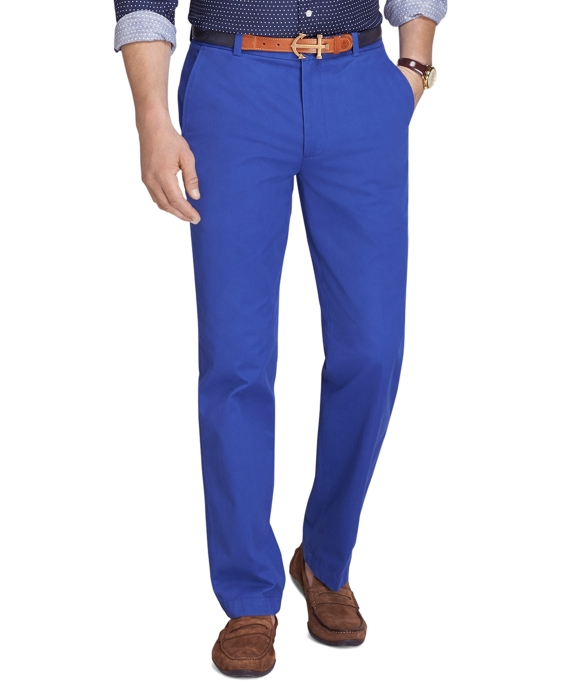 Clark Fit Vintage Washed Chinos Mazarine Blue
