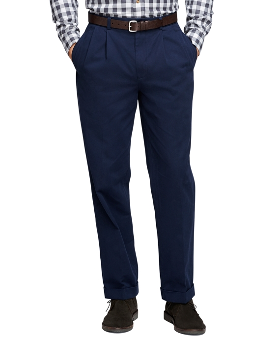 Elliot Fit Vintage Washed Chinos Navy