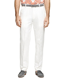 Clark Fit Linen and Cotton Pants