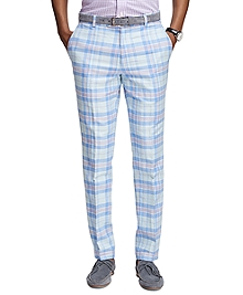 Milano Fit Plaid Pants