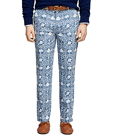 Clark Fit Nautical Print Pants