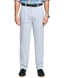 Elliot Fit Seersucker Pants