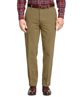 Clark Fit Brushed Twill Chinos