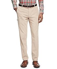 Slim Fit Corduroy Cargo Pants