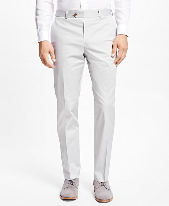 Milano Fit Twill Pants Grey