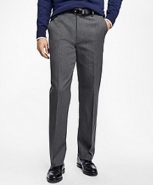 Non-Iron Clark Fit Pinstripe Chinos